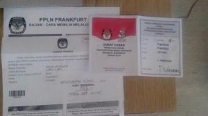 surat suara 1